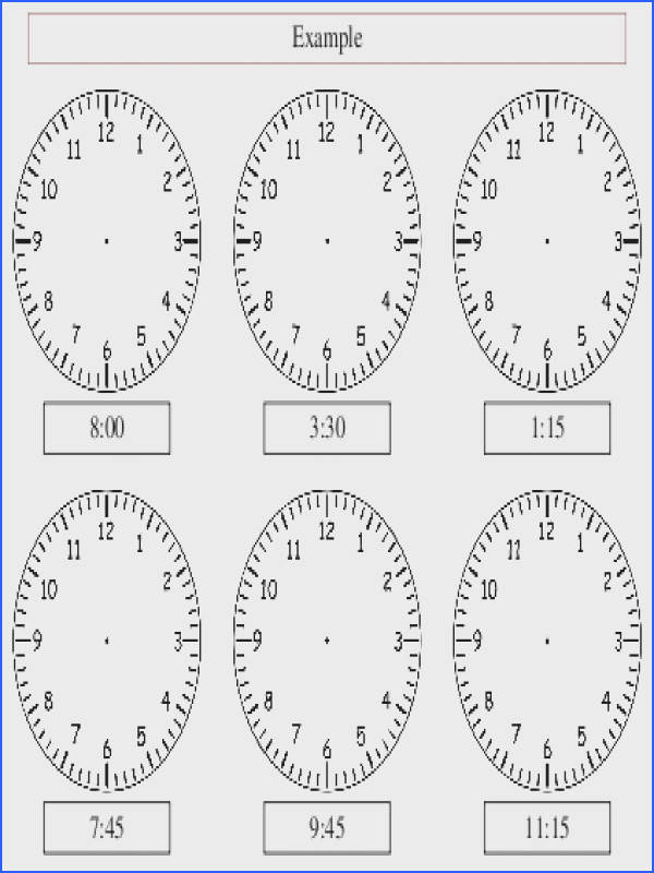 Analogue Clock Worksheet Maker Make your own tailored worksheets