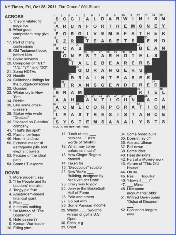 Anger Management Crossword Puzzles
