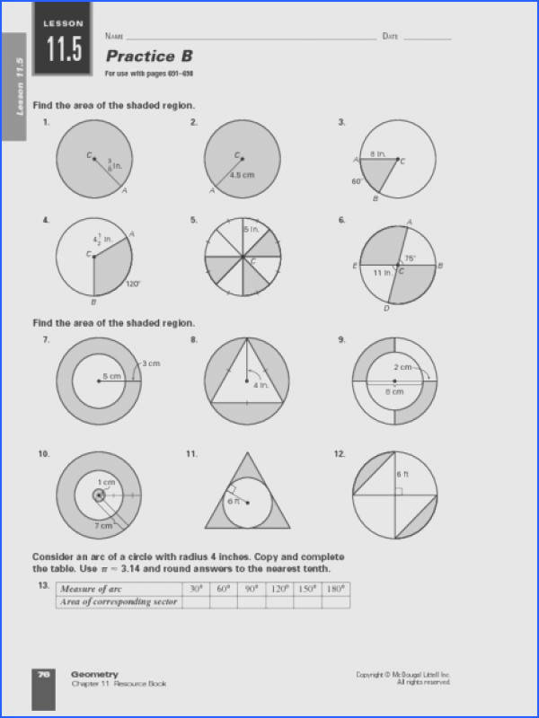 find the area of the shaded region worksheet photos mindgearlabs