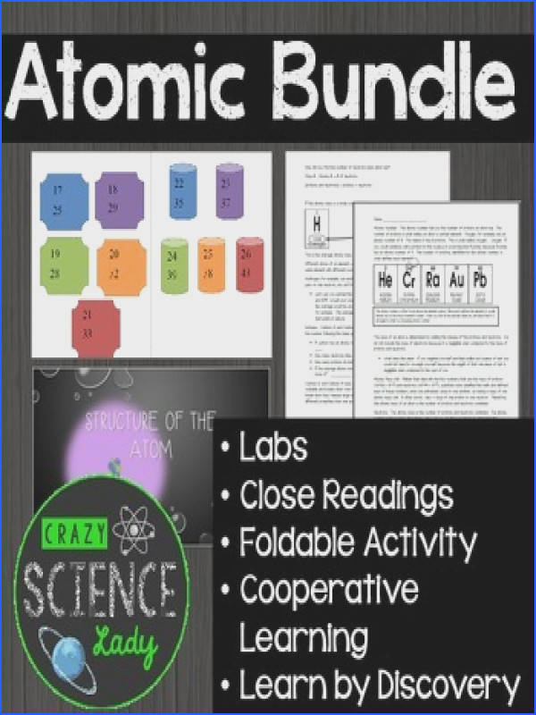 Atomic Bundle Atomic Structure Ions Isotopes Periodic Table Bonding