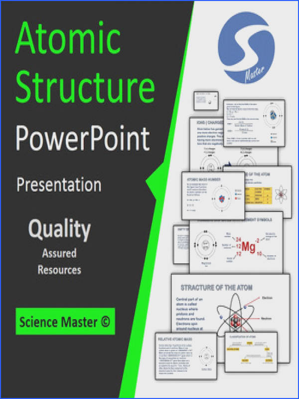 Atomic Structure PowerPoint Lesson