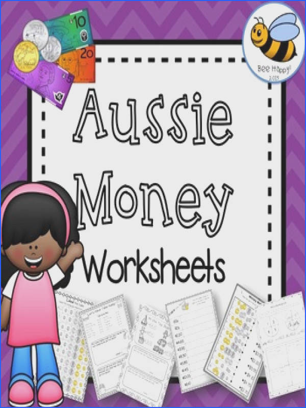 Australian Money Worksheets Year 2 3