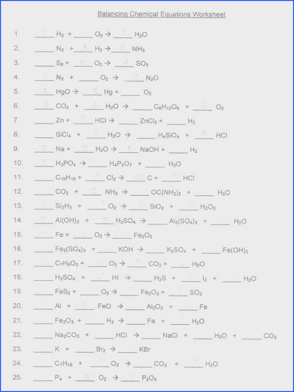 balancing chemical equations worksheet 1 answers to her with full size of worksheet rounding numbers worksheets balancing