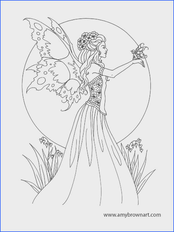 Beautiful Coloring Pages Fresh Https I Pinimg 736x 0d 98 6f 0d986f389efa707 and Fairy Beautiful