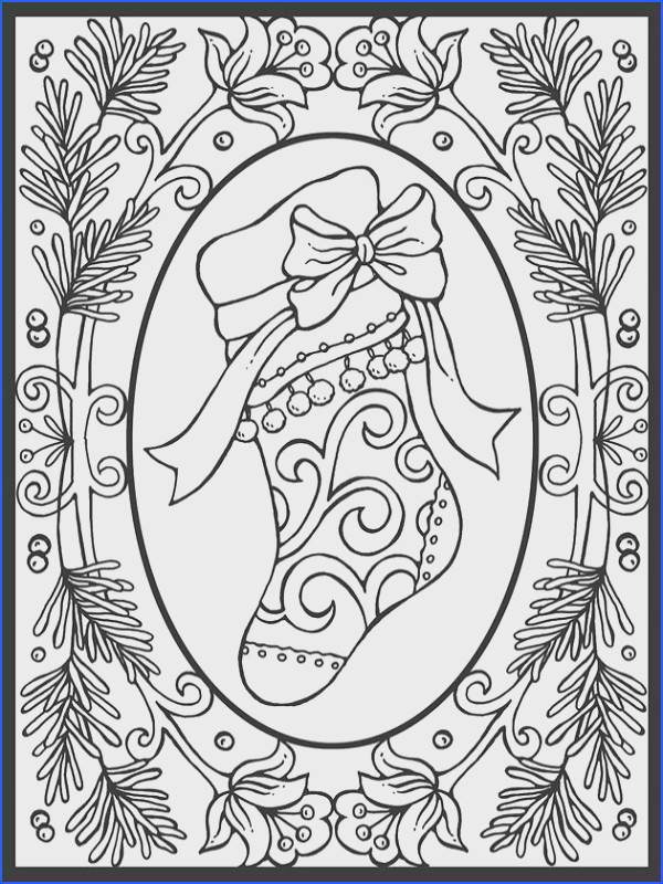 Christmas Coloring Pages For Adults Christmas Coloring Pages In