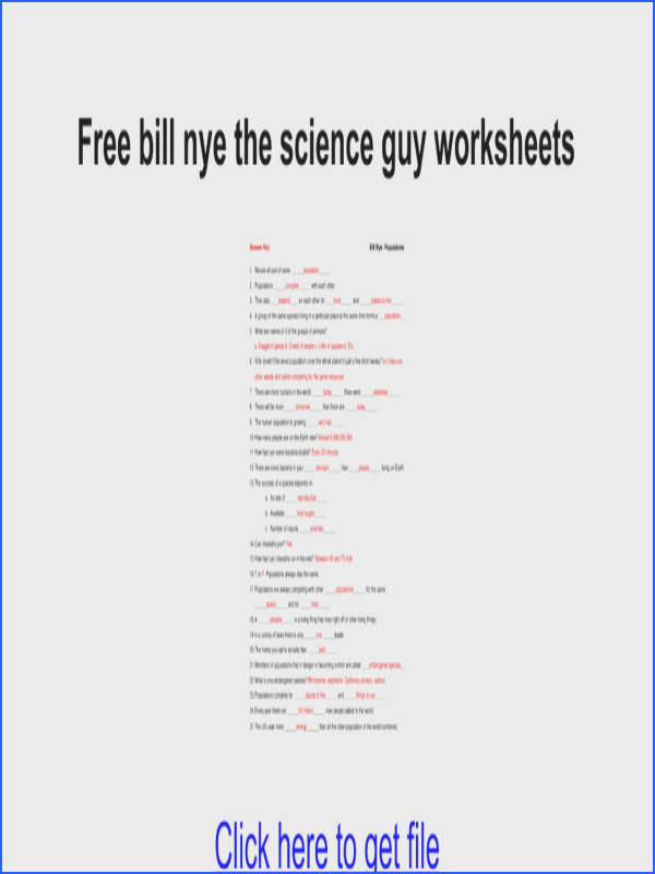 Confortable Bill Nye Phases Matter Worksheet New York Free Bill Nye The Science