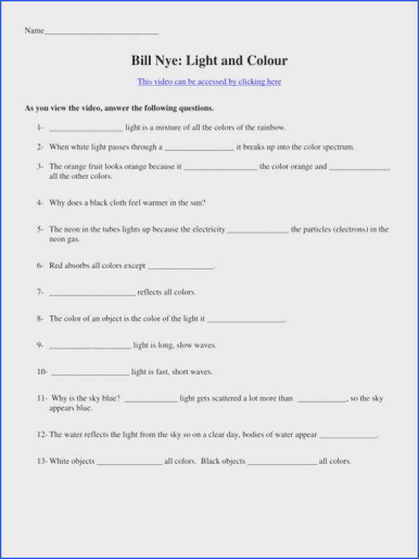 Bill Nye Chemical Reactions Worksheet Mychaume. Remarkable Bill Nye The Science Guy Static Electricity Worksheet Also Video Worksheets Four. Worksheet. Bill Nye Video Worksheet At Clickcart.co