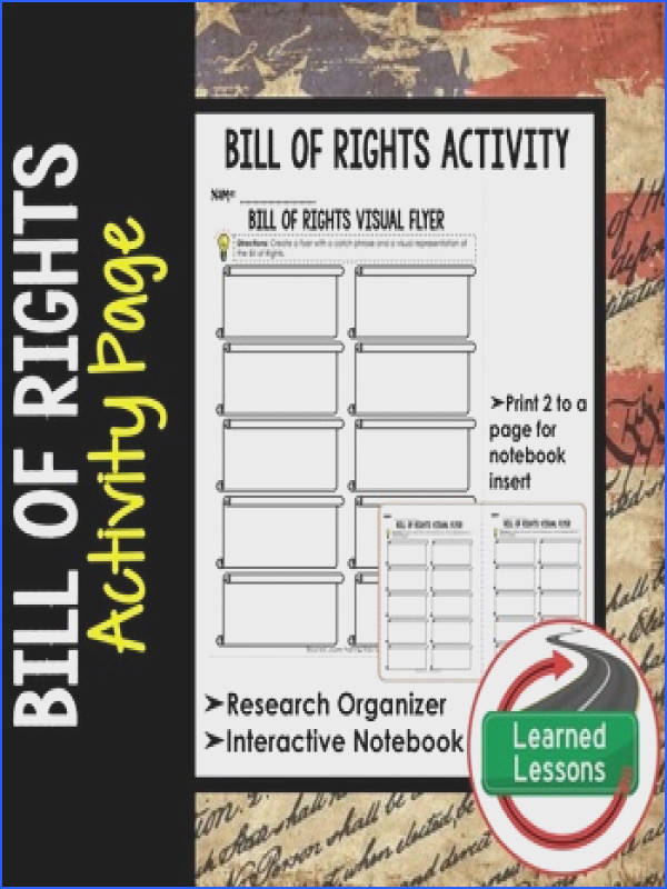 Bill of Rights Graphic Organizer Bill of Rights Graphic Organizer