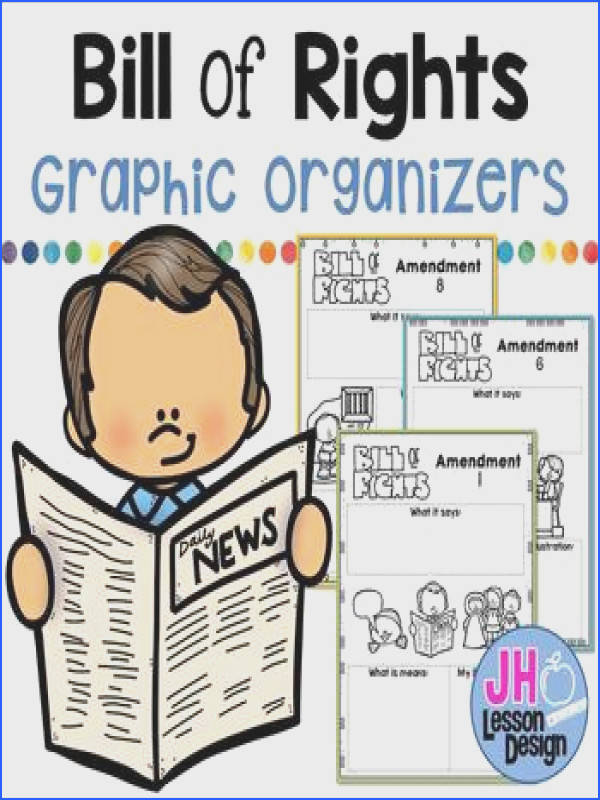 Bill of Rights Graphic Organizers Bill of Rights Graphic Organizers