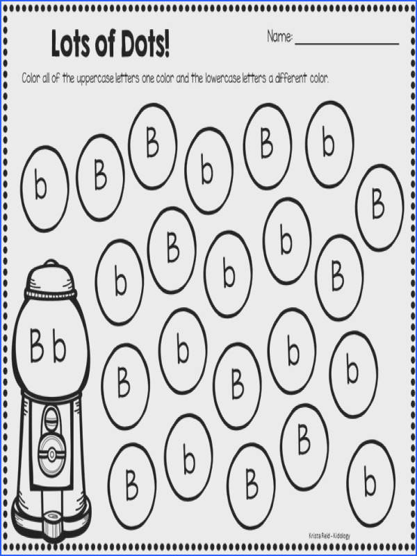 Fun and engaging letter recognition activity Students use a bingo dauber…