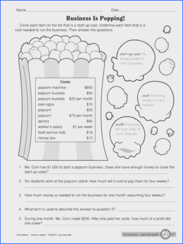 The Mailbox 4th Grade Economics Pinterest