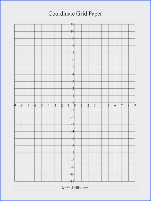 Cartesian Graph Paper Excel 20X20 Graph Paper line Math cartesian graph paper