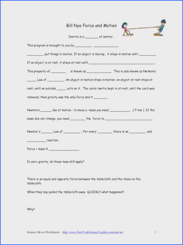 Force And Motion Worksheets Mychaume. Force Motion And Energy Worksheets Centripetal. Worksheet. Centripetal Force Worksheet At Clickcart.co