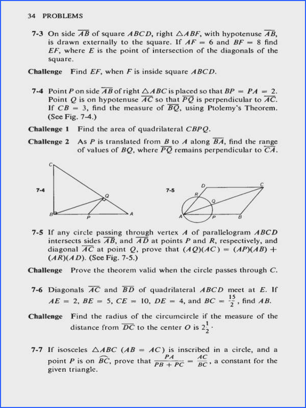challenging problems in geometry 45 638