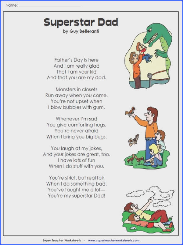 Super Teacher Worksheets has a large selection of printable worksheets to celebrate Father s Day