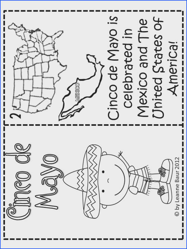 Cinco De Mayo Props and Printable Image Below Cinco De Mayo Worksheets
