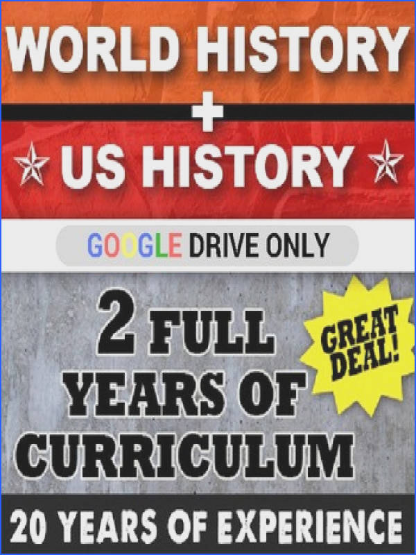 World History Greece Cold War US History Early America 1970 GOOGLE DRIVE LINK