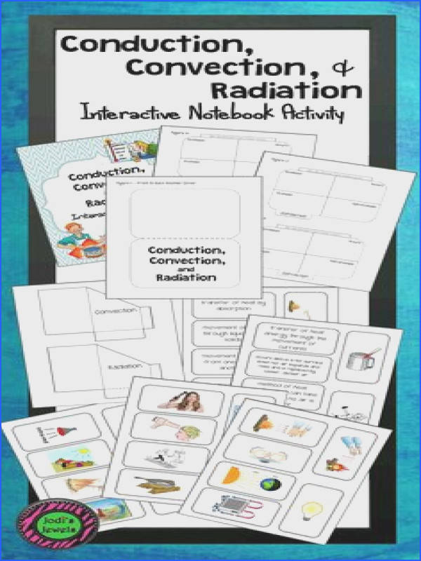 Students will plete 2 interactive notebook activities about the transfer of thermal energy conduction