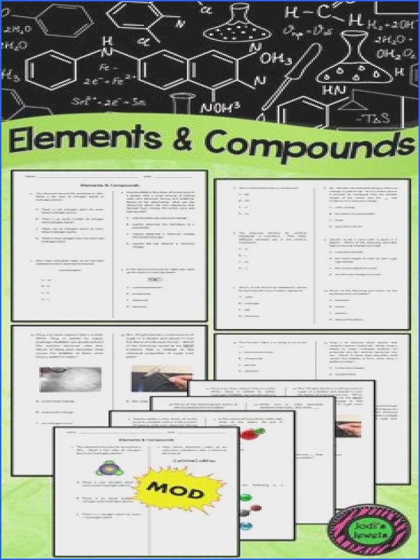 Created for an introduction to elements & pounds unit This worksheet can be used as