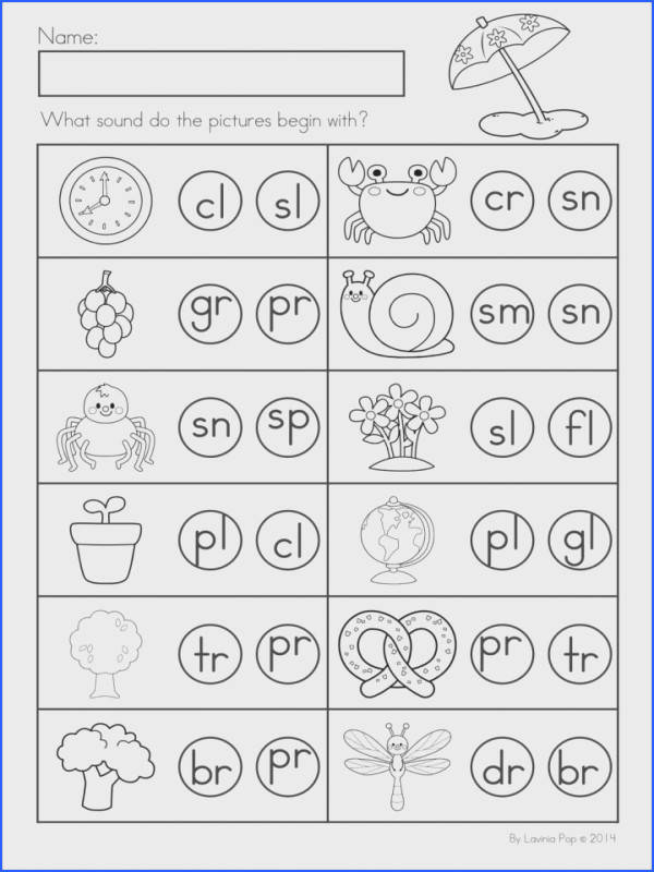 Consonant Blends Worksheet For Kids Royalty Free Cliparts Vectorsacy Worksheets Ks About Digraph And