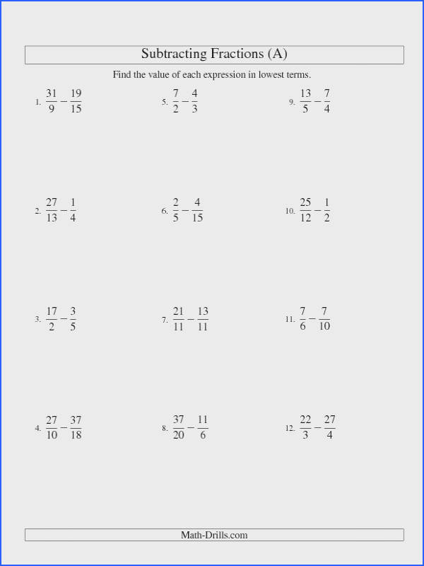 Converting Improper Fractions & Mixed Numbers Worksheets Worksheets Pinterest