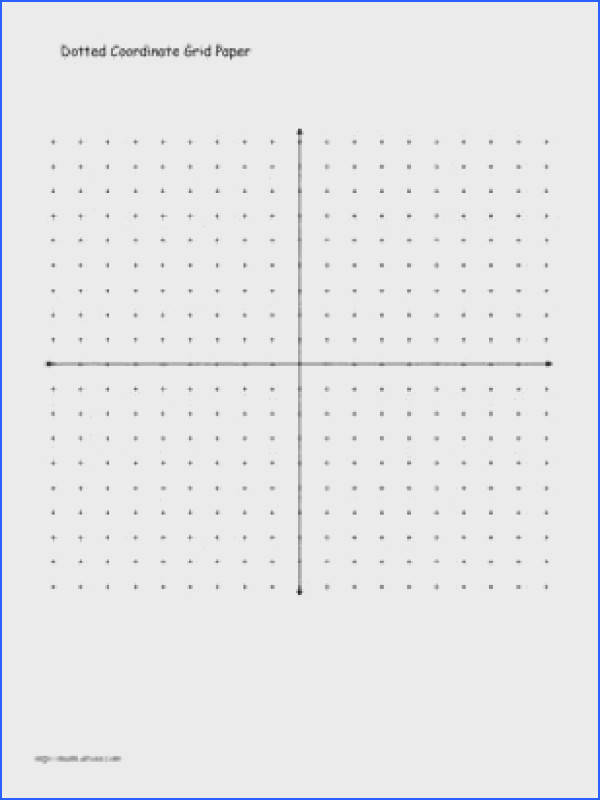 Coordinate Graph Paper Without Numbers