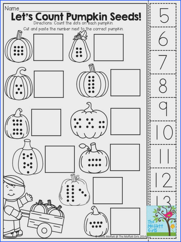 Count cut and paste TONS of fun printables