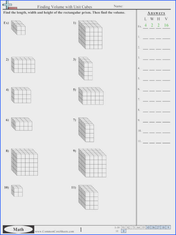 Counting Blocks Worksheet Worksheets for all Download and Worksheets