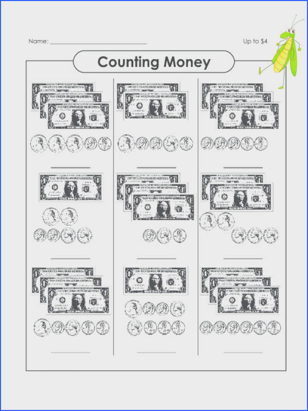 Counting Money Up to $14 Image Below Money Math Worksheets