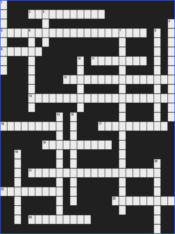 mendel crossword p