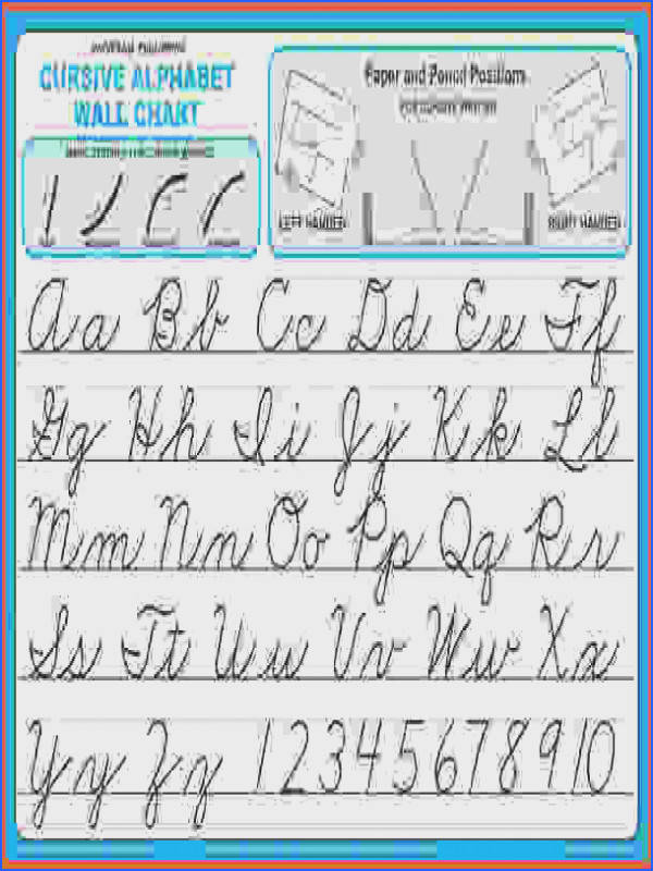 cursive alphabet worksheet pdf worksheets for all and