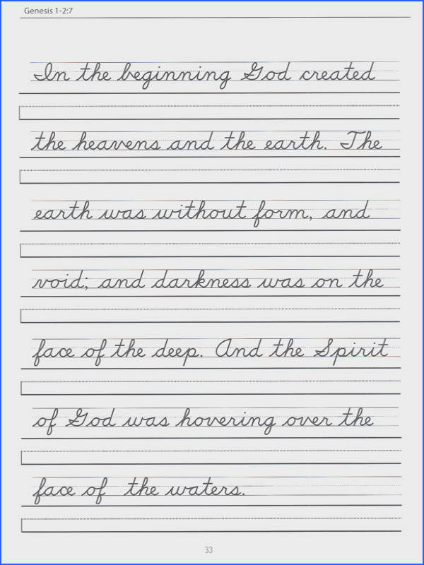 Cursive Handwriting Printables Worksheets for all Download and Worksheets