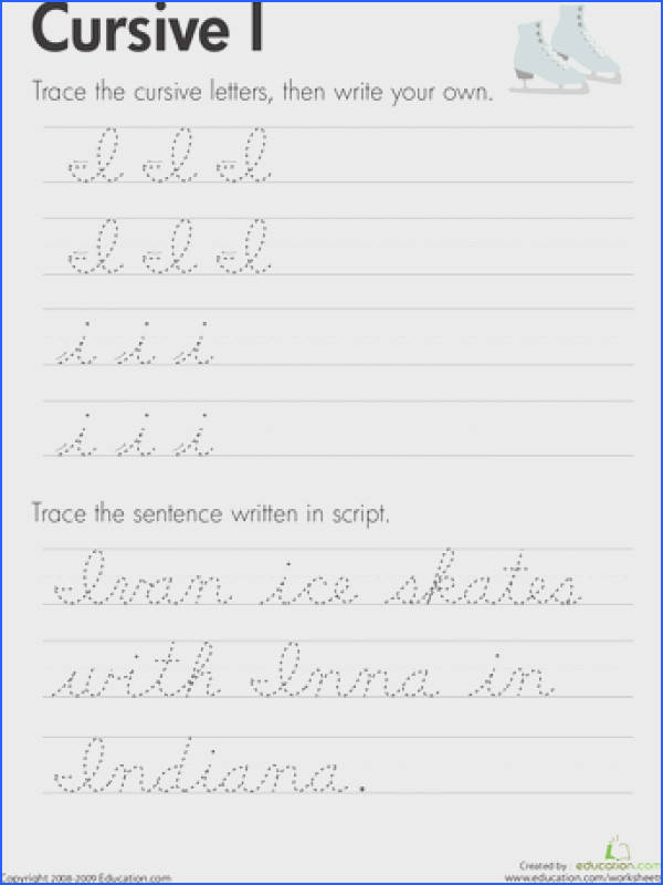 Practice cursive letters A Z with our cursive handwriting worksheets From A to the mysterious cursive Z you ll be an expert cursive writer when you re