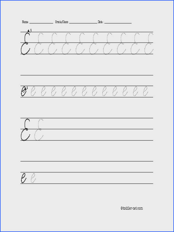 Cursive Writing Worksheets Free Printable Worksheets for all Download and Worksheets