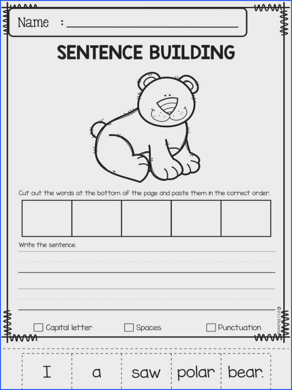 January Sentence Building has 30 pages of sentence building worksheets This product will teach children