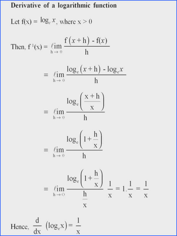 Derivative of exponential function For more solutions to calculus problems log… Math Pinterest