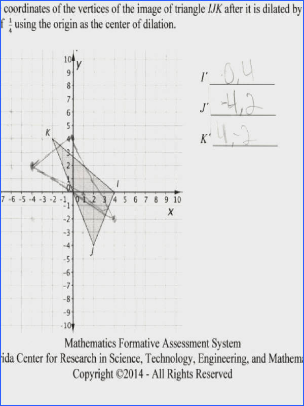 dilation math worksheets free library and center printables for kindergarten mfas dilationcoordinates i a part of under
