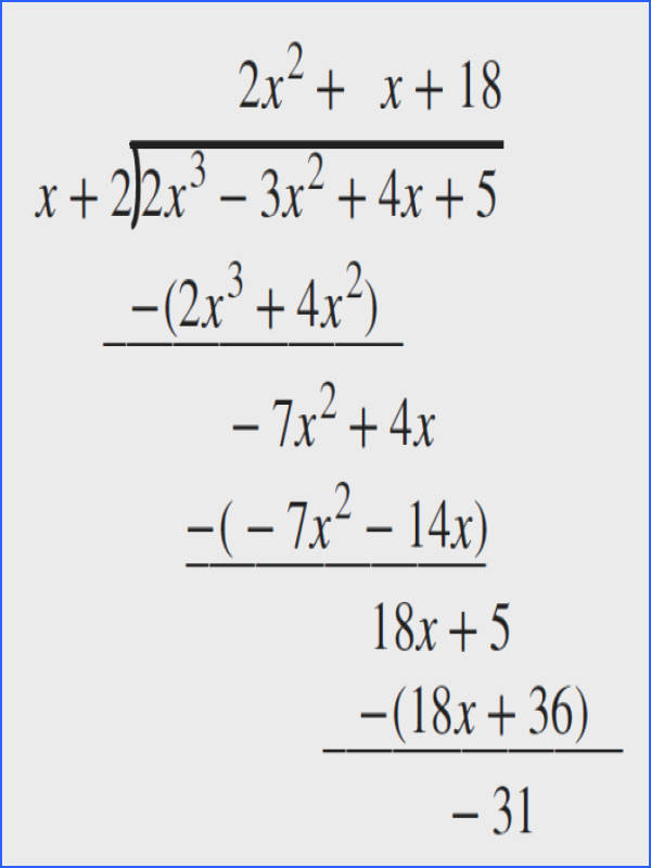 Dividing Polynomials Using Synthetic Division Worksheet Answer Key Worksheets for all Download and Worksheets