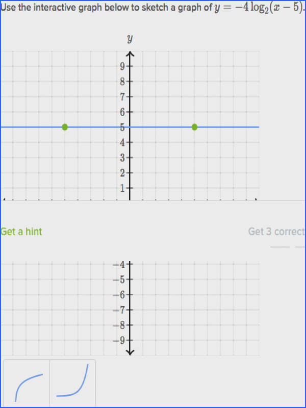 graphs of exponentials and logarithms