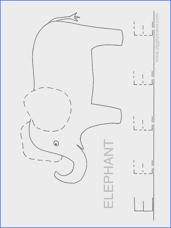E is for Elephant Preschool Worksheet Free Printable Worksheets & Coloring Pages