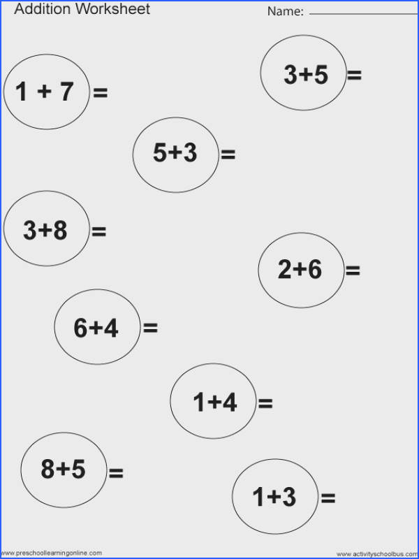 Easy Subtraction Worksheets 1St Grade Worksheets for all Download and Worksheets