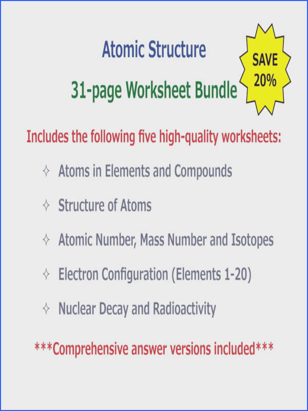 Worksheet Image Electron Configuration Worksheet 2 Answers