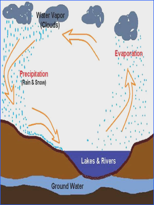 elementary lesson for clouds water cycle DIY TTD Pinterest