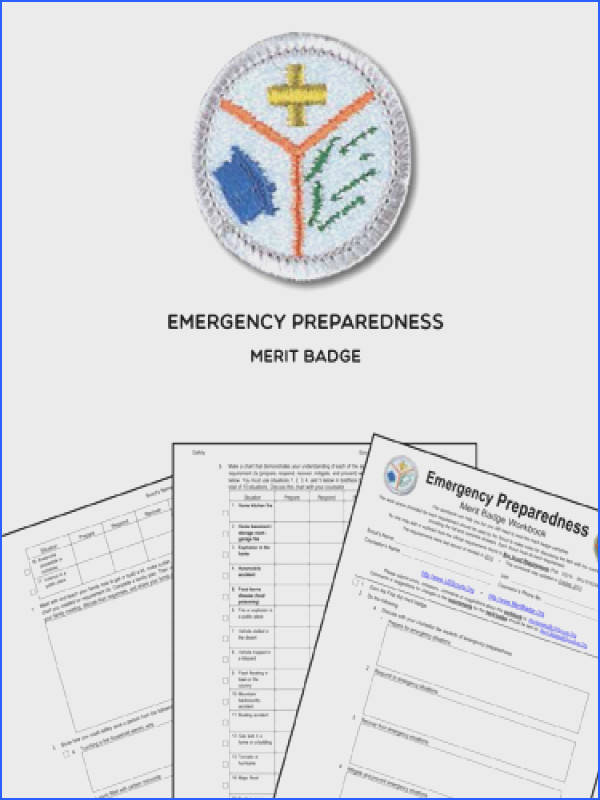 Emergency Preparedness Merit Badge View Here