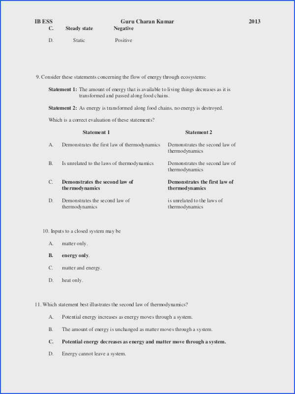 Energy In Ecosystems Worksheet Worksheets for all Download and Worksheets