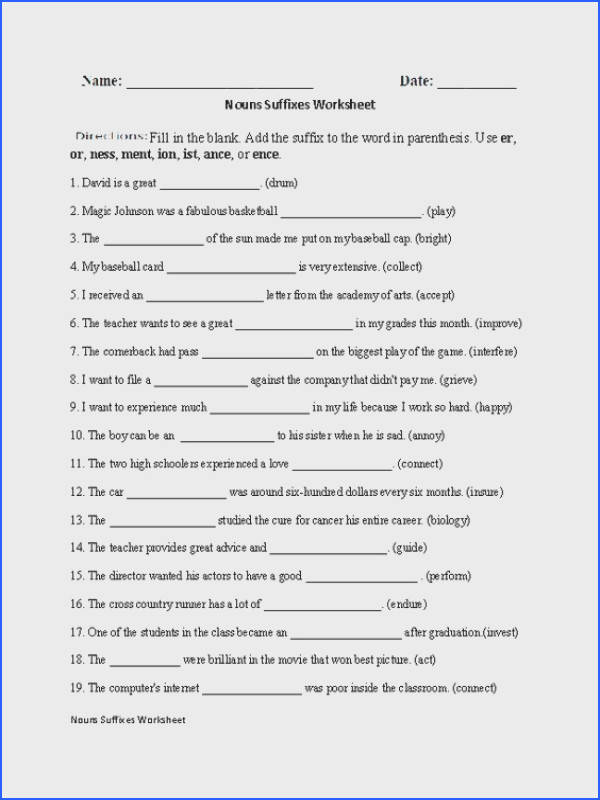 Englishlinx Suffixes Worksheets Englishlinx Board Pinterest