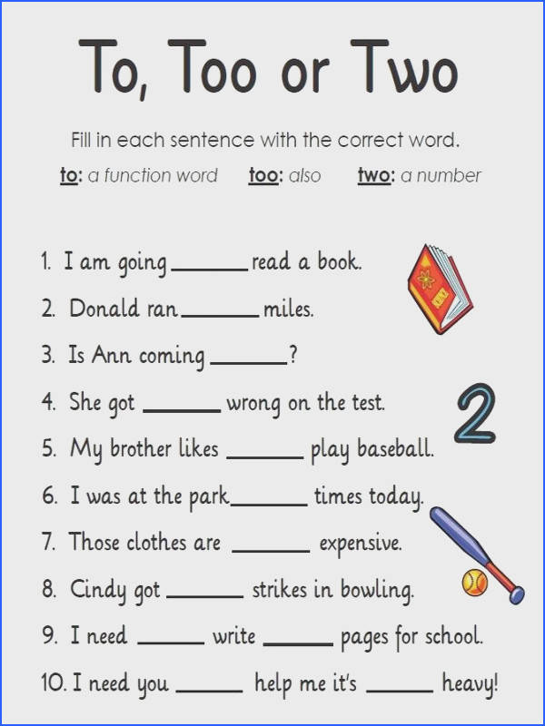 Learning English Worksheets Mychaume