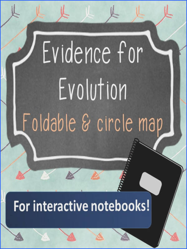 Evidence for evolution for interactive notebooks This lesson makes it easy to include both