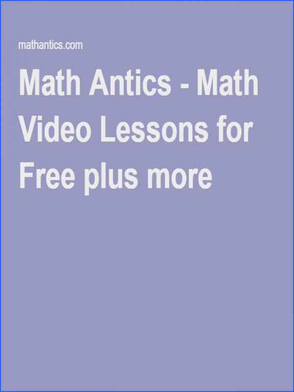 Excellent videos for free worksheets for a low cost I often use