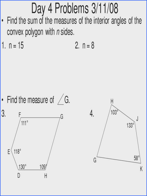 Po 4 7 Exceptional Interior And Exterior Angles Polygons Worksheet 4 line Math Learning
